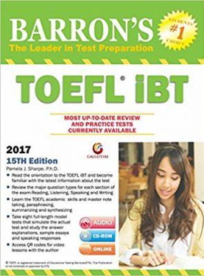 BARRON'S TOEFL iBT - учебник для подготовки к экзамену
