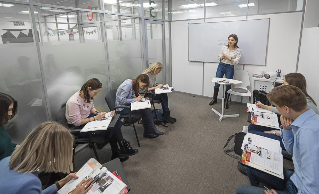 Учебная аудитория курсов Start2Study